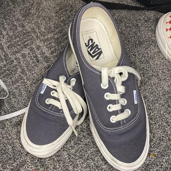 Vans Shoes   Vans Vault Og Authentic